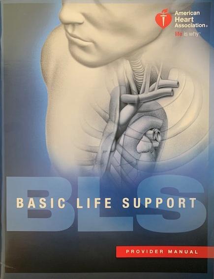 Basic Life Support provider manual
