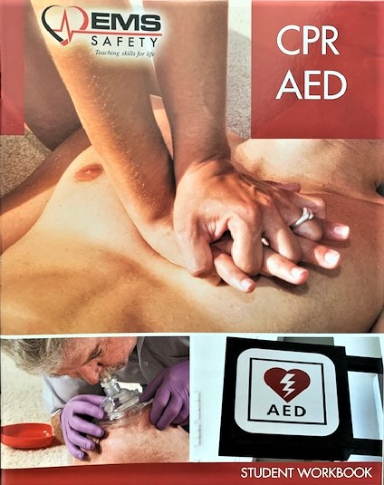 MOR Safety Services, Fairfield CA | CPR AED book
